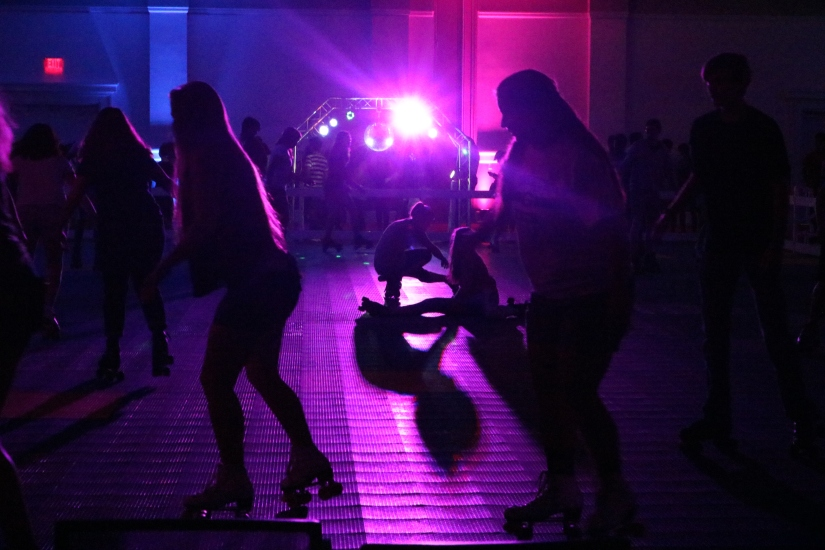 A Blast from the Past: University Union Hosts Skate in TateEvent