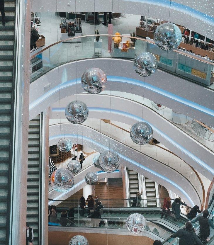 image of mall interior